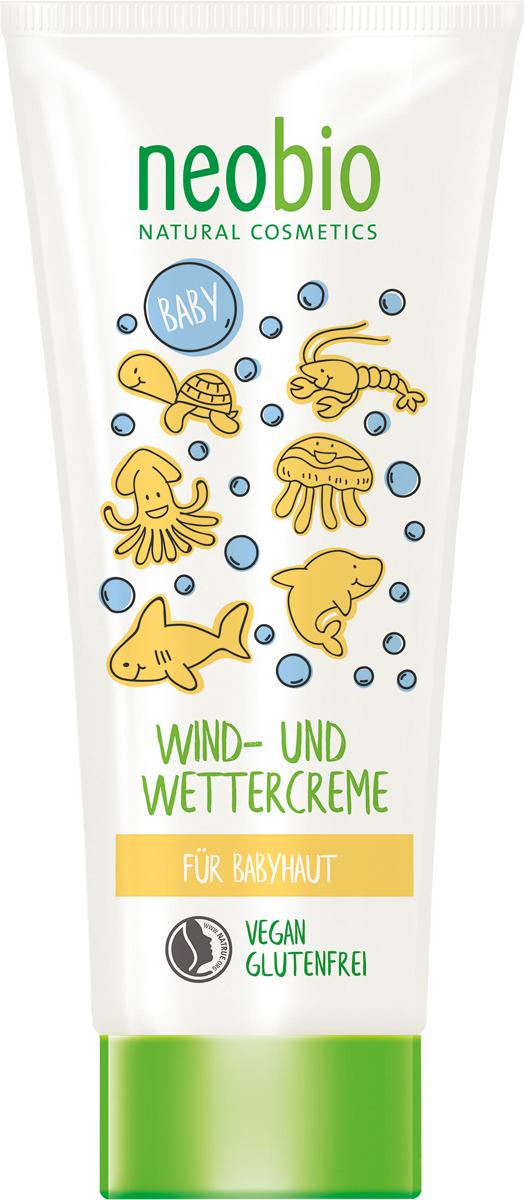 Neobio Детский защитный крем от ветра и холода с Био-Календулой, 100 мл neobio детский гель для купания и пена для ванны с био алоэ и био календулой 250 мл