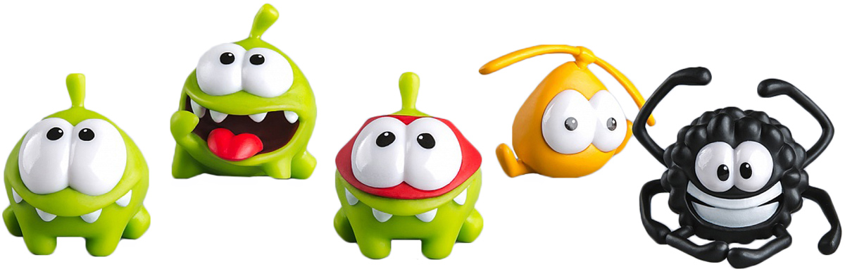 PROSTO toys Cut the Rope Набор фигурок 12 Ам Ням 5 шт prosto toys cut the rope набор фигурок 6 ам ням 2 шт
