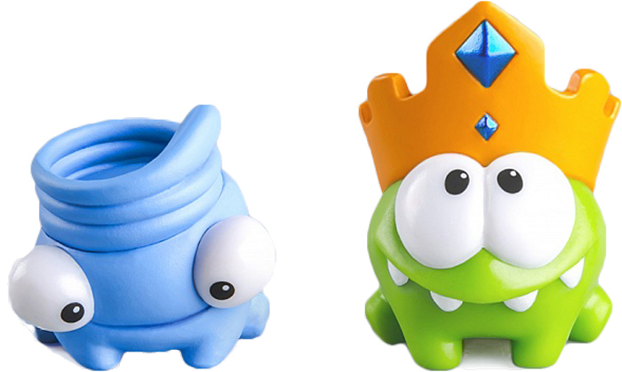 PROSTO toys Cut the Rope Набор фигурок 1 Ам Ням 2 шт prosto toys cut the rope набор фигурок 6 ам ням 2 шт