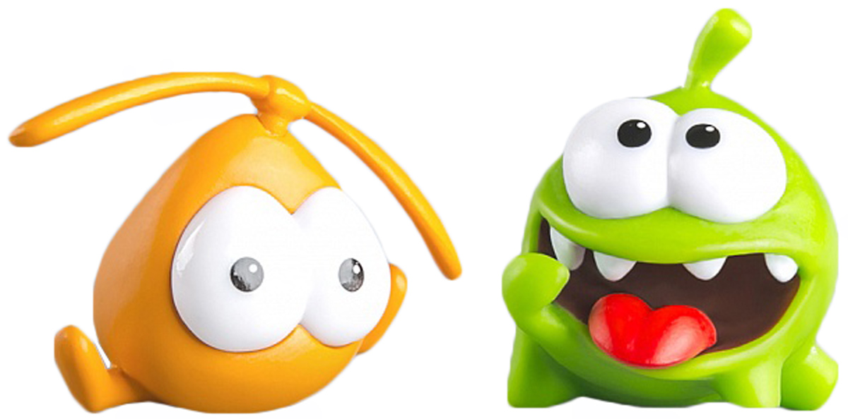 PROSTO toys Cut the Rope Набор фигурок 2 Ам Ням, 2 шт prosto toys cut the rope набор фигурок 6 ам ням 2 шт