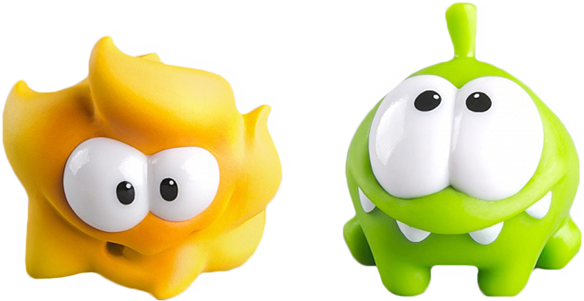 PROSTO toys Cut the Rope Набор фигурок 7 Ам Ням, 2 шт prosto toys cut the rope набор фигурок 6 ам ням 2 шт