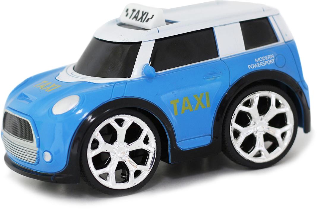Фото - Taiko Zoom Машина на радиоуправлении Такси цвет голубой taiko хаммер на радиоуправлении цвет красный