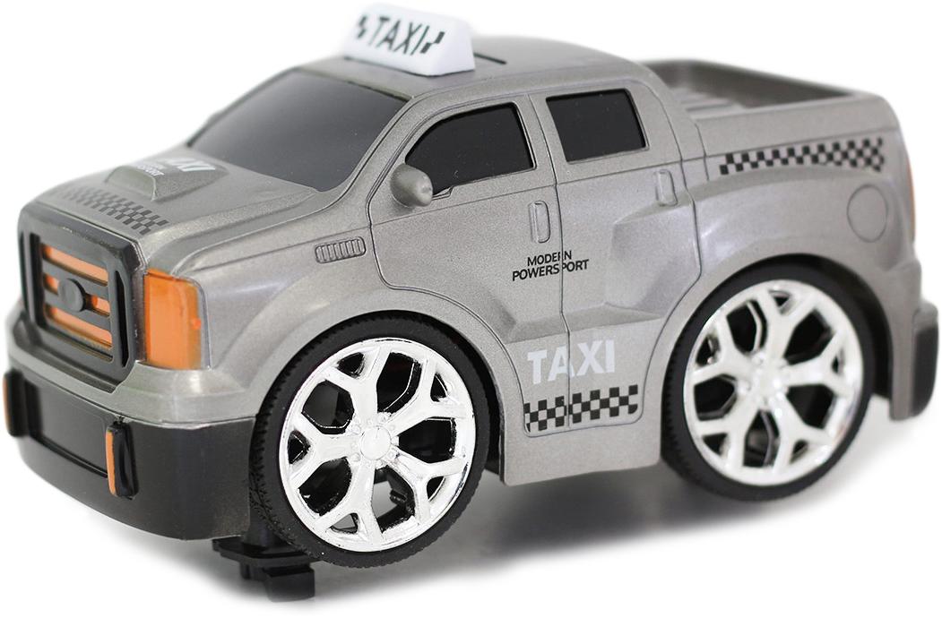Машина на радиоуправлении Taiko Такси, цвет: серый машина авто по русски такси 10104апр