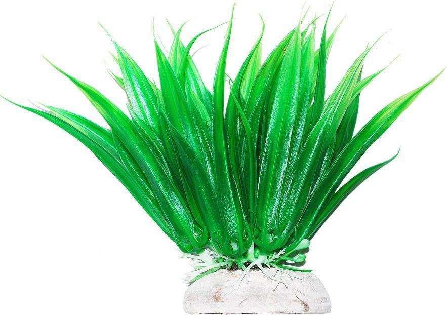 Растение для аквариума Уют Осот, высота 11 см растение для аквариума уют щитолистник зеленый высота 11 см