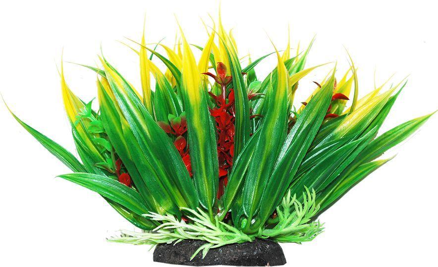 Растение для аквариума Уют Осот зелено-желтый, высота 12 смВК304Пластиковое растение для аквариума Уют Осот зелено-желтый - отличный аксессуар, который украсит ваш домашний аквариум. Изготовлено из искусственных и полимерных материалов. Безопасно для рыб и других аквариумных обитателей.