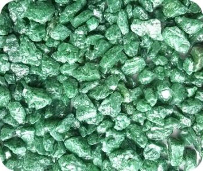 Грунт для аквариума Уют, натуральный, мраморная крошка, цвет: салатовый, 5-10 мм, 2 кг грунт для аквариума barbus натуральный каменная крошка цвет красный 5 10 мм 3 5 кг