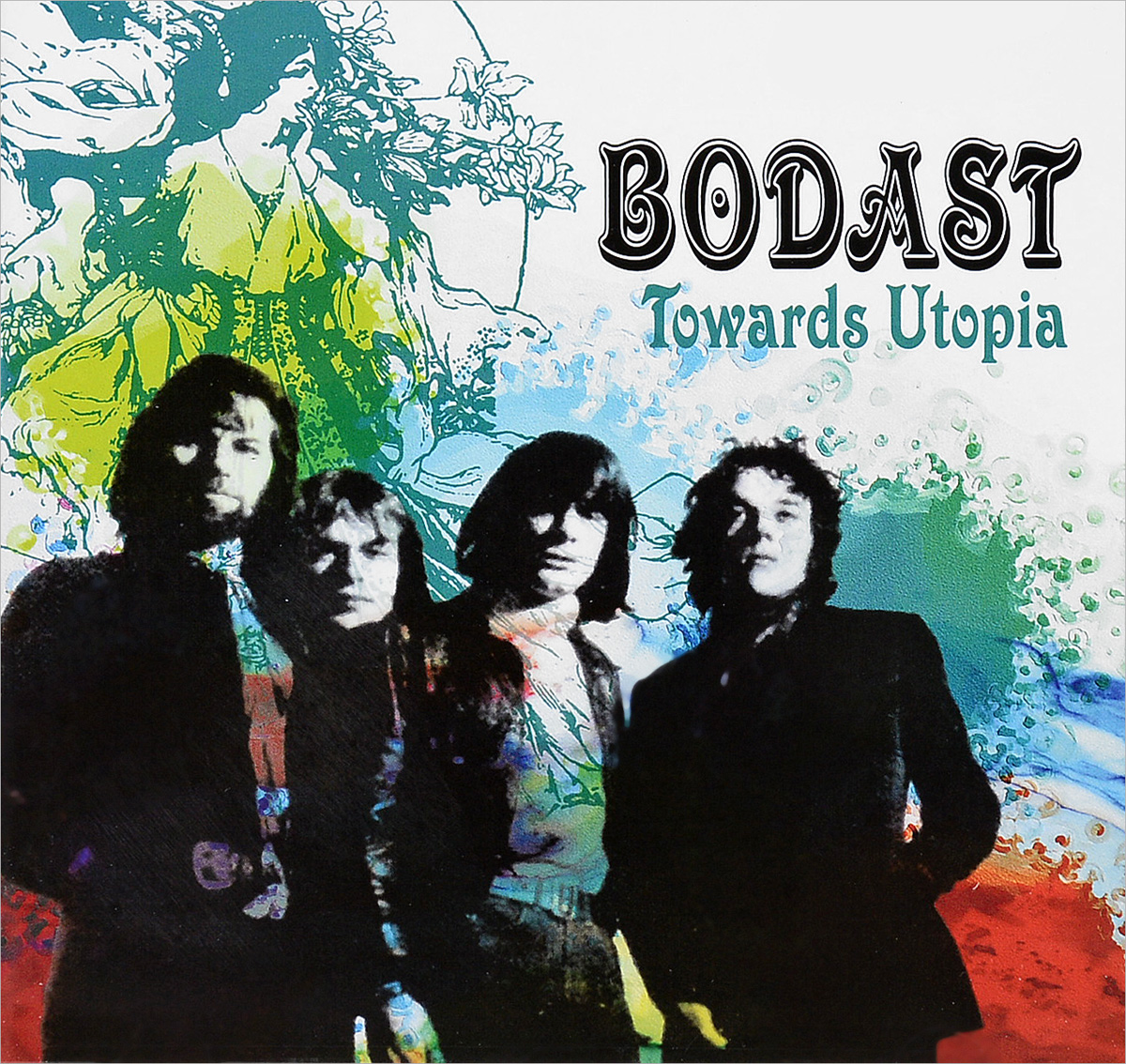 Bodast BODAST featuring STEVE HOWE Towards Utopia: Remastered Edition CD цены онлайн