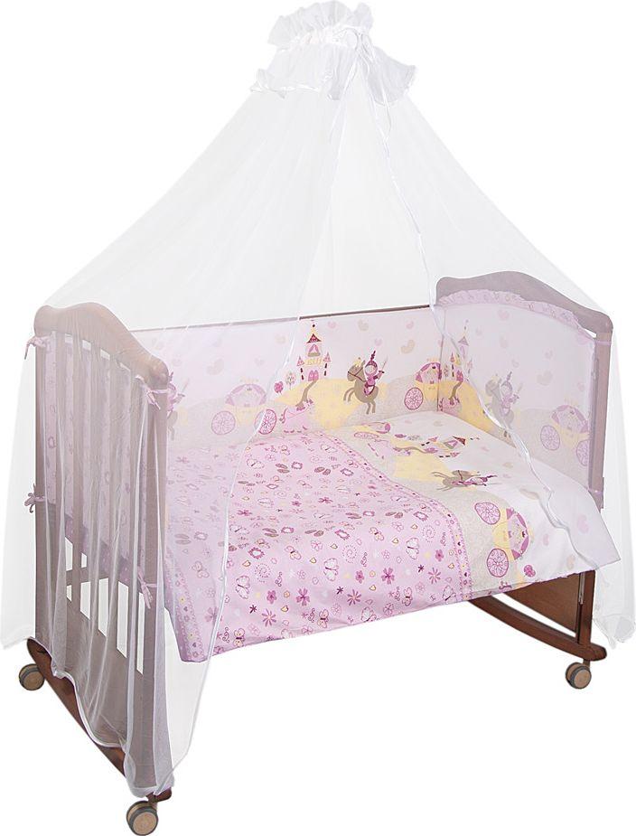 Сонный гномик Комплект белья для новорожденных Золушка цвет розовый 6 предметов