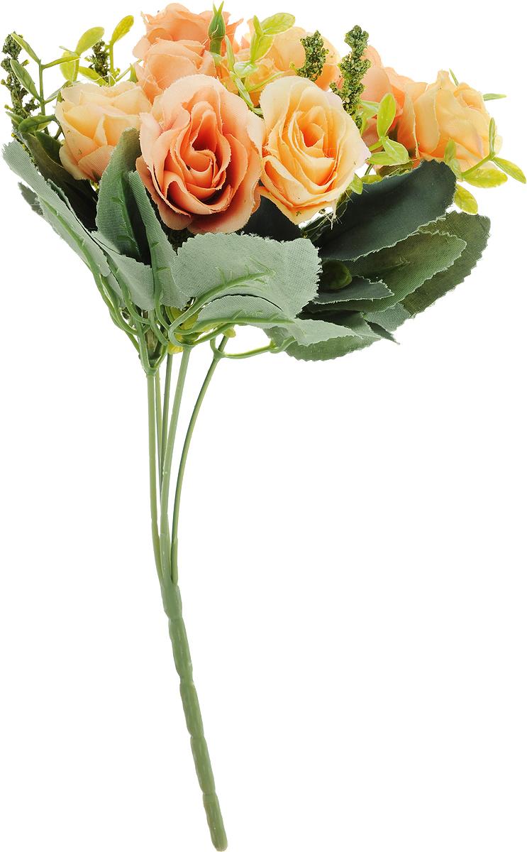 Цветы искусственные Engard Роза в букете, цвет в ассортименте, высота 30 см. E4-238RE4-238RИскусственные цветы Engard - это популярное дизайнерское решение для создания природного колорита и индивидуальности в интерьере. Декоративный букет роз из 10 цветков желтого и оранжевого цвета выглядит довольно реалистично, нежно и является достойной альтернативой натуральным цветам. Розы имеют идеально собранную форму. Не требует постоянного ухода. Высота букета: 30 см. Уважаемые клиенты! Обращаем ваше внимание на цветовой ассортимент товара. Поставка осуществляется в зависимости от наличия на складе. Рекомендуем!