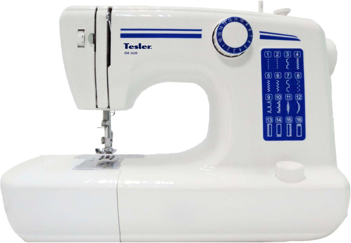 Швейная машина Tesler SM-1620, White швейная машина tesler sm 1210
