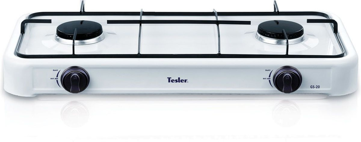 Настольная плита Tesler GS-20, White газовая