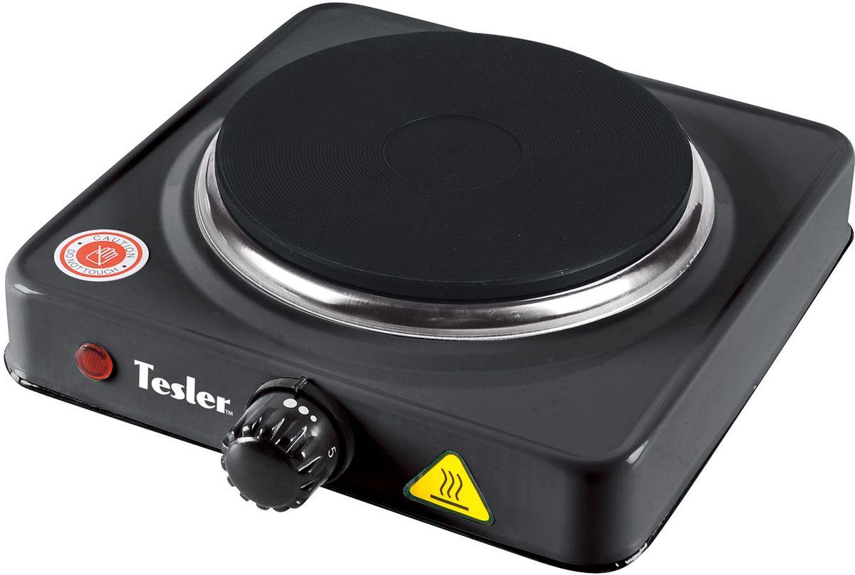 Настольная плита Tesler PE-13, Black электрическая