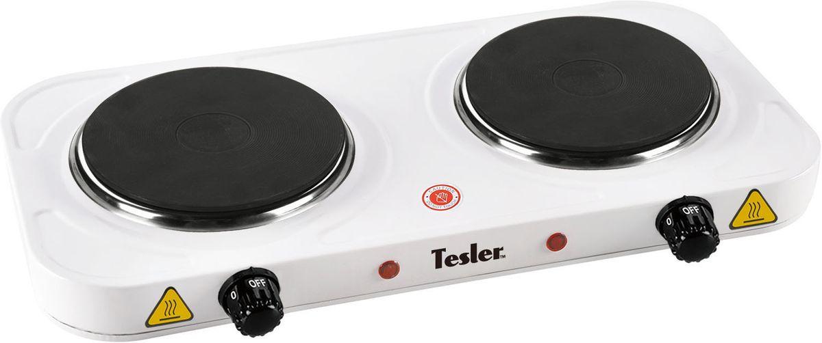 Tesler PE-20, White плита электрическая