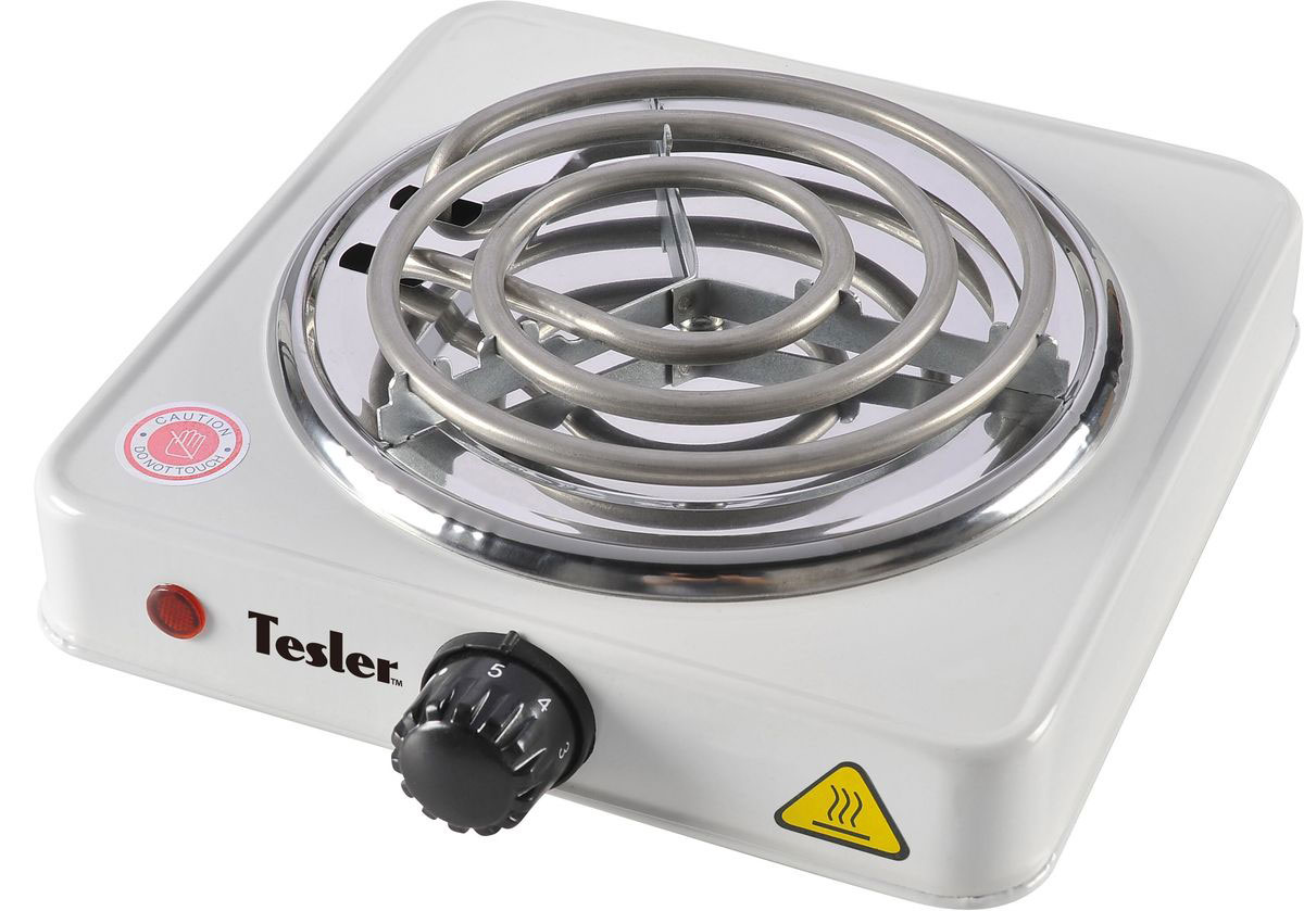 Настольная плита Tesler PEO-01, White электрическая плита tesler peo 02 white