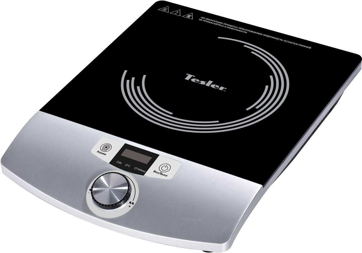 Настольная плита Tesler PI-17, Black индукционная Tesler