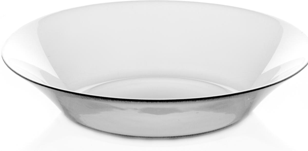 Тарелка Pasabahce Инвитейшн, цвет: прозрачный, диаметр 22 см тарелка pasabahce атлантис цвет прозрачный диаметр 21 см