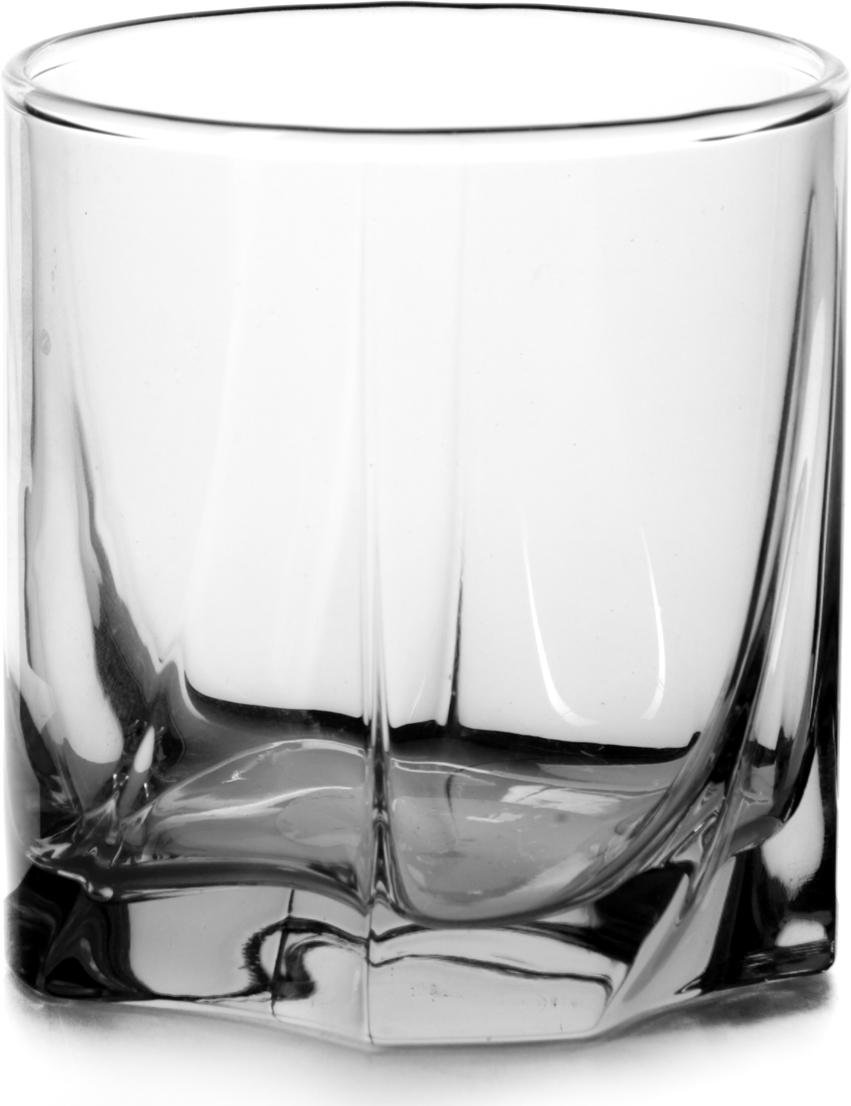 Набор стаканов Pasabahce Luna, цвет: прозрачный, 368 мл, 6 шт набор стаканов для виски pasabahce сильвана 305 мл 6 шт