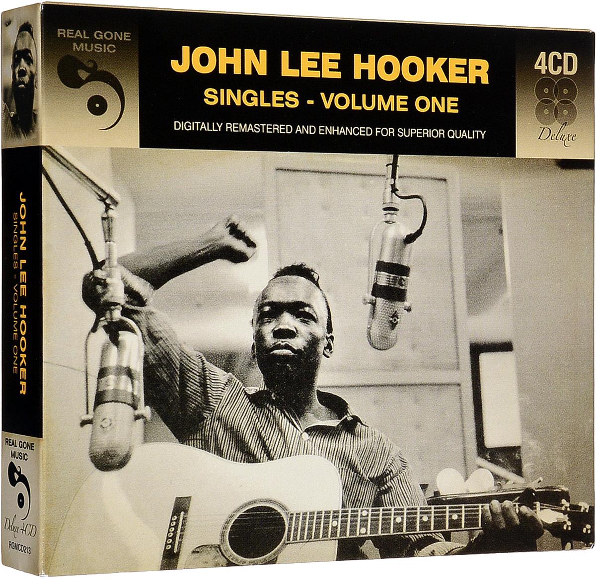 Джон Ли Хукер John Lee Hooker. Singles 1 (4 CD) джон ли хукер john lee hooker blues is the healer 10 cd
