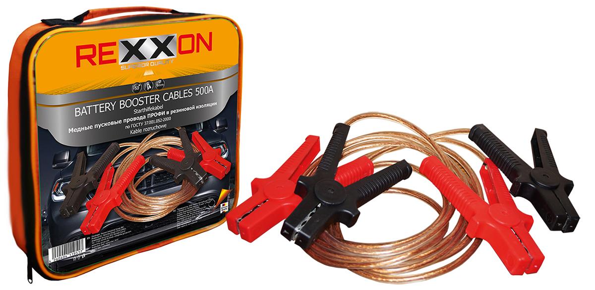 Провода для прикуривания авто Rexxon 1-04-3-1-0 провода вспомогательного запуска nova bright fusion морозостойкие 1000 а 46778 разноцветный 4 м