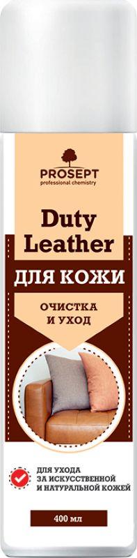 Средство для изделий из кожи Prosept Duty Leather, 0,4 л очиститель кондиционер кожи autoprofi средство для бережного ухода за кожаным салоном автомобиля и другими изделиями из кожи триггер 500мл