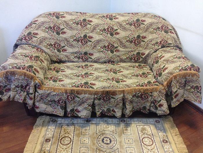 Набор чехлов для дивана и кресел МарТекс Сказка, 3 предмета. 05-0375 набор чехлов для дивана и кресел мартекс с карманами 3 предмета 05 0751 3