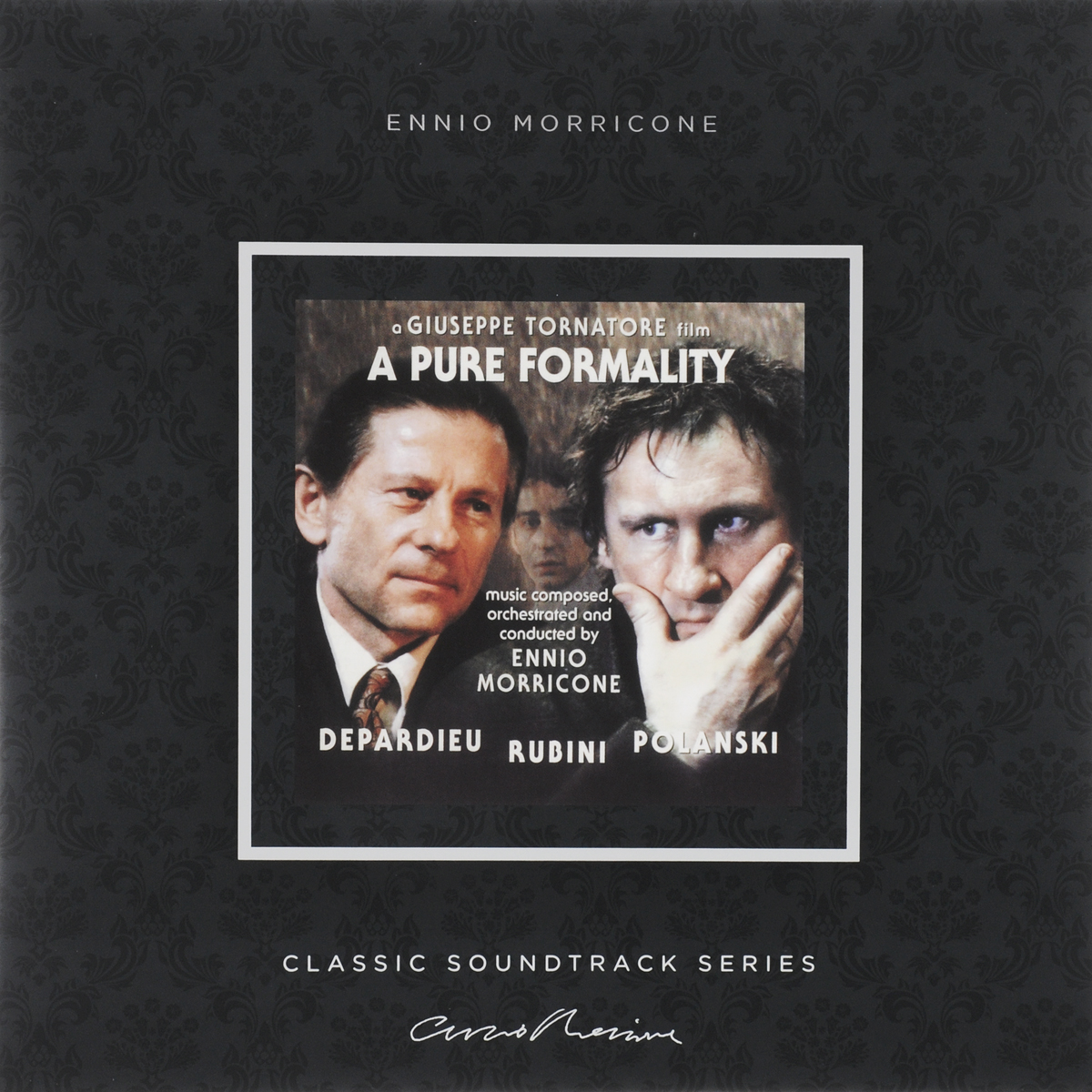 Эннио Морриконе Ennio Morricone. A Pure Formality.. (LP) эннио морриконе ennio morricone the very best of ennio morricone