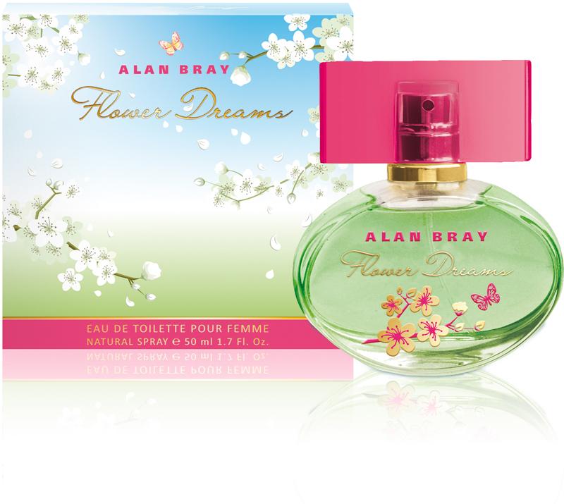 Alan Bray,Туалетная вода Flower Dreams, женская 50 мл bray steve alan футболка