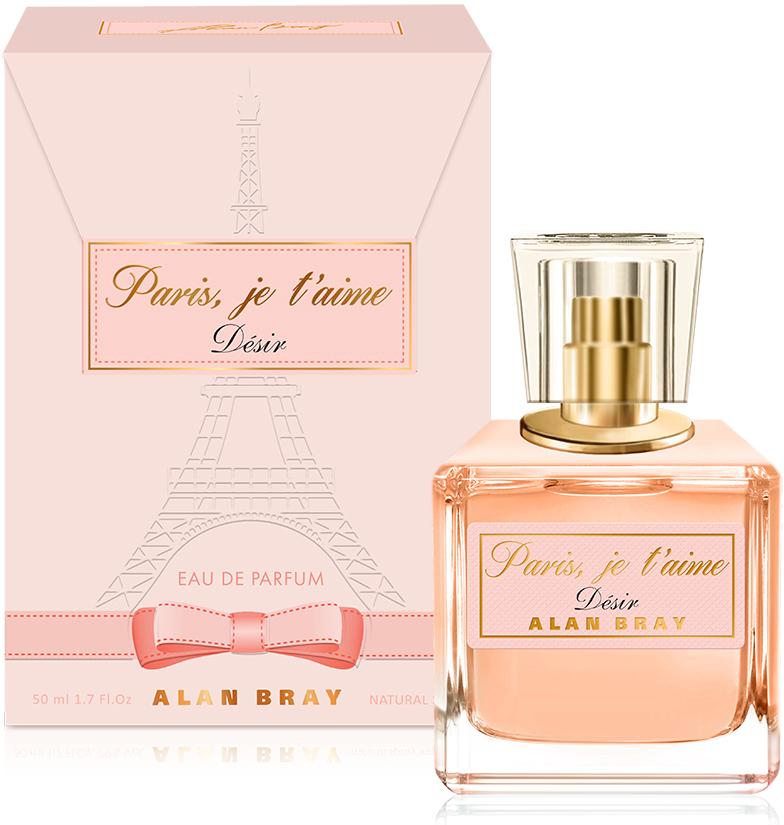 Alan Bray, Paris, je t'aime Desir ,парфюмированная вода 50 мл alan bray paris je t aime desir парфюмированная вода 50 мл
