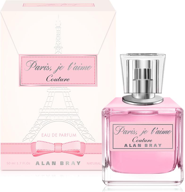 Alan Bray, Paris, je t'aime Сouture ,парфюмированная вода 50 мл alan bray paris je t aime desir парфюмированная вода 50 мл