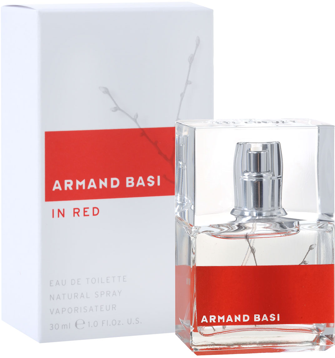 Armand Basi Туалетная вода In Red, женская, 30 мл armand basi in red туалетная вода тестер 100 мл