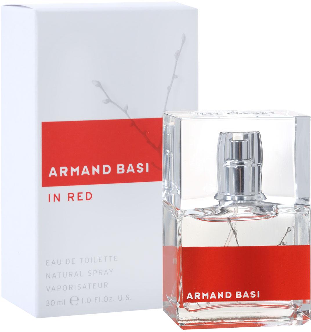 Armand Basi Туалетная вода In Red, женская, 30 мл туалетная вода armand basi basi in red 50 мл