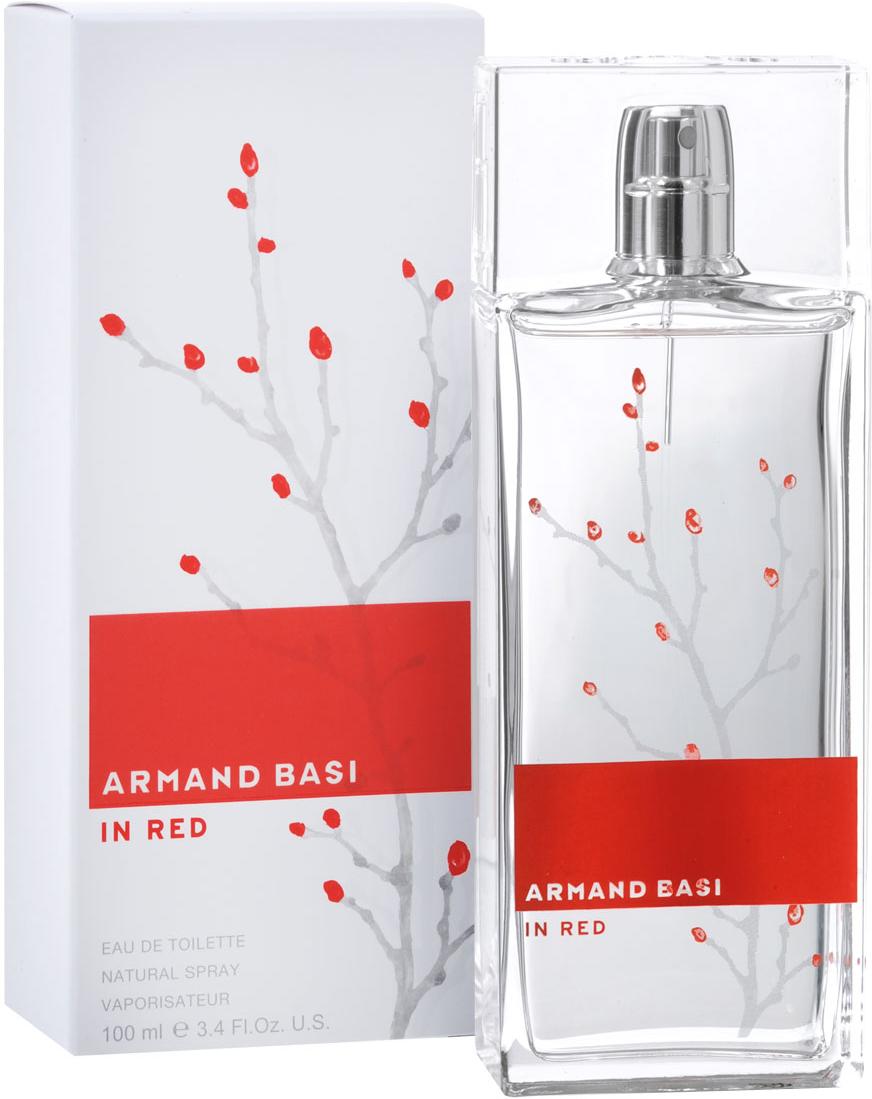 Armand Basi Туалетная вода In Red, женская, 100 мл туалетная вода armand basi basi in red 50 мл