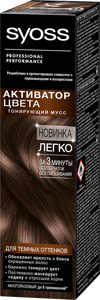 SyossАктиватор Цвета для темных оттенков 75 мл
