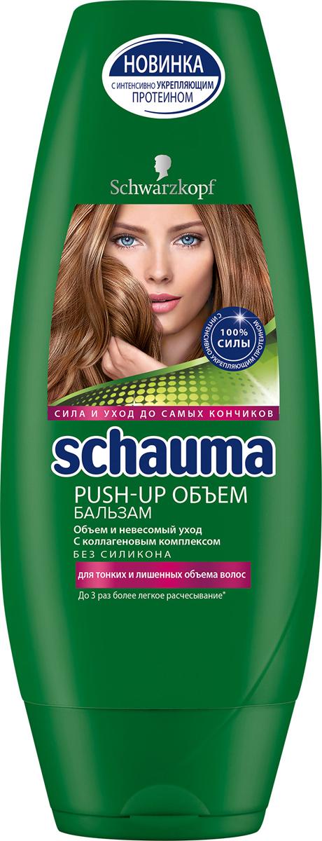 SCHAUMA Ополаскиватель Push-Up Объем, 250 мл цена в Москве и Питере
