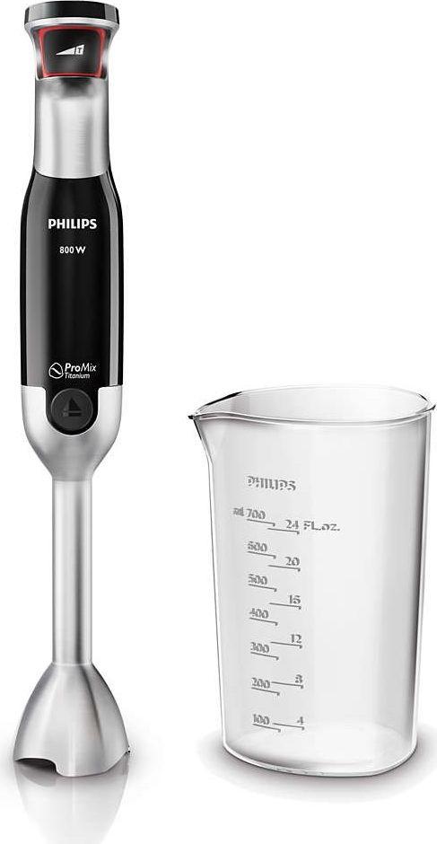 Блендер Philips HR1670/90, Silver Black