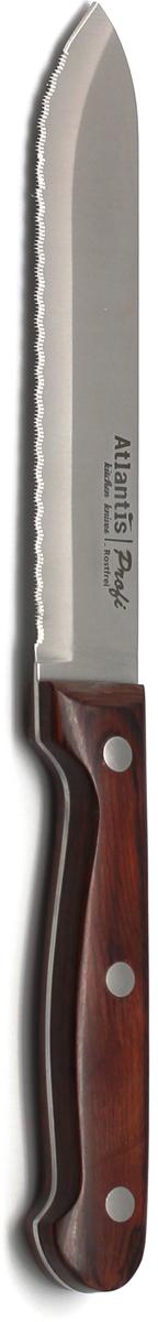 Нож для томатов Atlantis Profi, длина лезвия 14 см. 24415-SK рукоятка для лезвия резака для обработки плинтусов leister 14538
