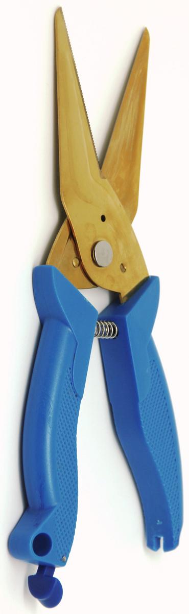 Ножницы кухонные Atlantis, универсальные, цвет: синий. 18LF-1001-B ножницы кухонные atlantis универсальные цвет синий 18lf 1001 b