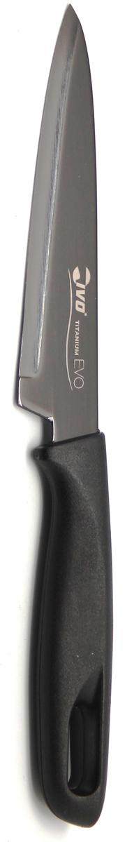 """Нож кухонный """"Ivo"""", цвет: черный, длина лезвия 12 см. 221062.12"""