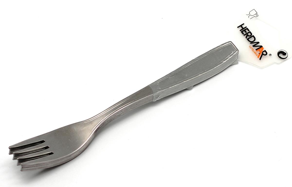 Набор вилок Herdmar Tillia, цвет: серебристый, 6 предметов740397_2Набор Herdmar Tillia, выполненный из высококачественной стали, состоит из шести вилок. Приборы оформлены зеркальной полировкой, что придает им строгость и изысканность. Такой набор прекрасно дополнит сервировку стола. Можно мыть в посудомоечной машине. Характеристики: Материал: сталь. Комплектация: 6 шт. Длина вилки: 19 см. Артикул: 09140020200M06.