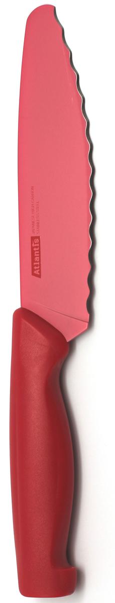 """Нож универсальный """"Atlantis"""", цвет: красный, длина лезвия 15 см. 6D-R"""