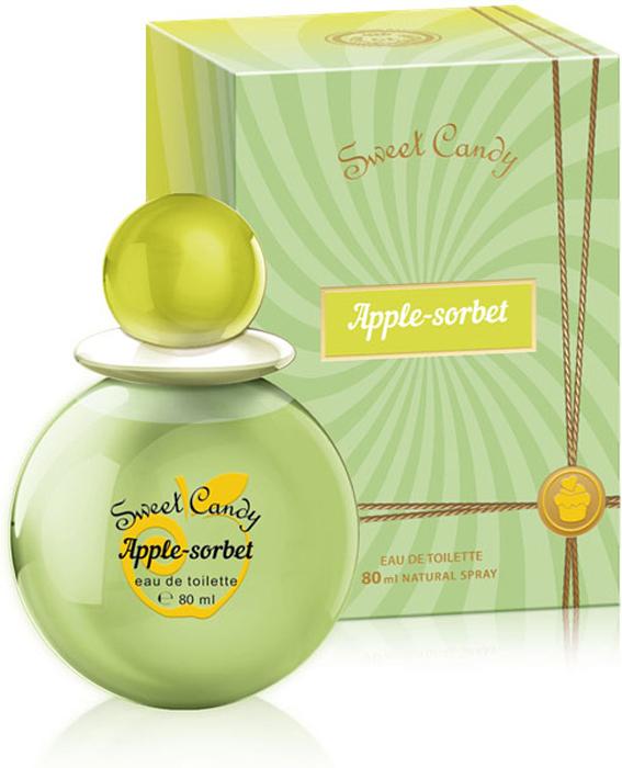 Sweet Candy Apple-Sorbet Туалетная вода 80 мл sweet candy strawberry kiss туалетная вода 80 мл