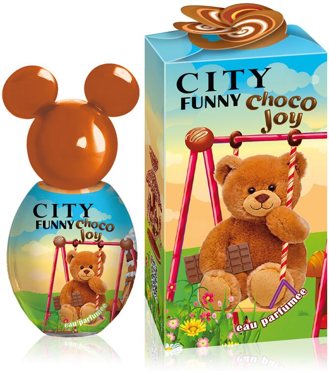 City Funny Choco Joy, душистая вода, 30 мл цена