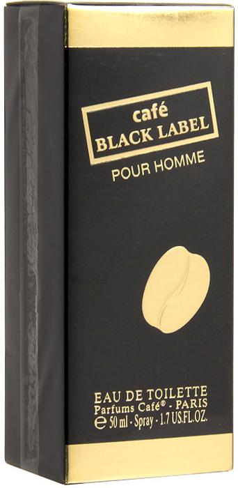 Cafe-Cafe Black Label. Туалетная вода, 50 мл sana beauty cafe