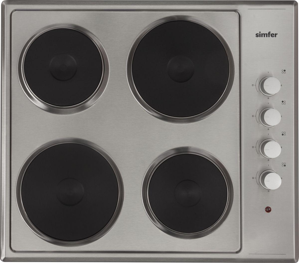 Варочная панель Simfer, электрическая, H60E04M011 Simfer