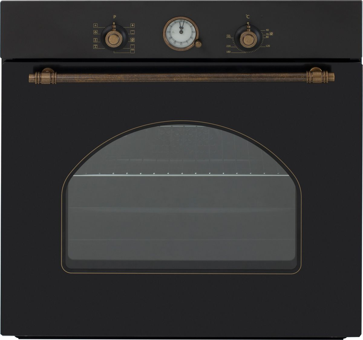Электрический духовой шкаф встраиваемый Simfer B6EL77017, Black электрический духовой шкаф simfer b6eo77017