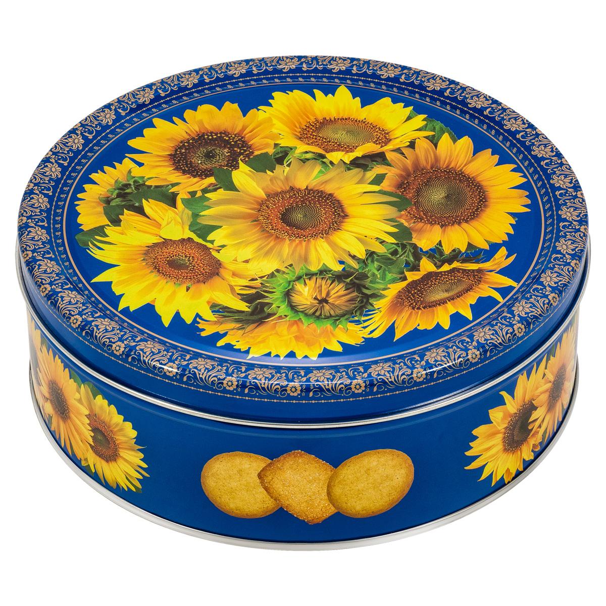 Сладкая Сказка Monte Christo Подсолнухи печенье со сливочным маслом, 400 г сладкая сказка monte christo тюльпаны печенье со сливочным маслом 400 г