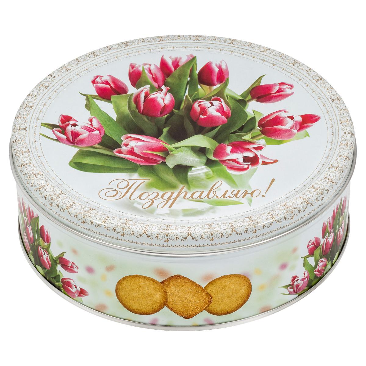 Сладкая Сказка Monte Christo Тюльпаны печенье со сливочным маслом, 400 г monte christo ретромобиль печенье со сливочным маслом 400 г