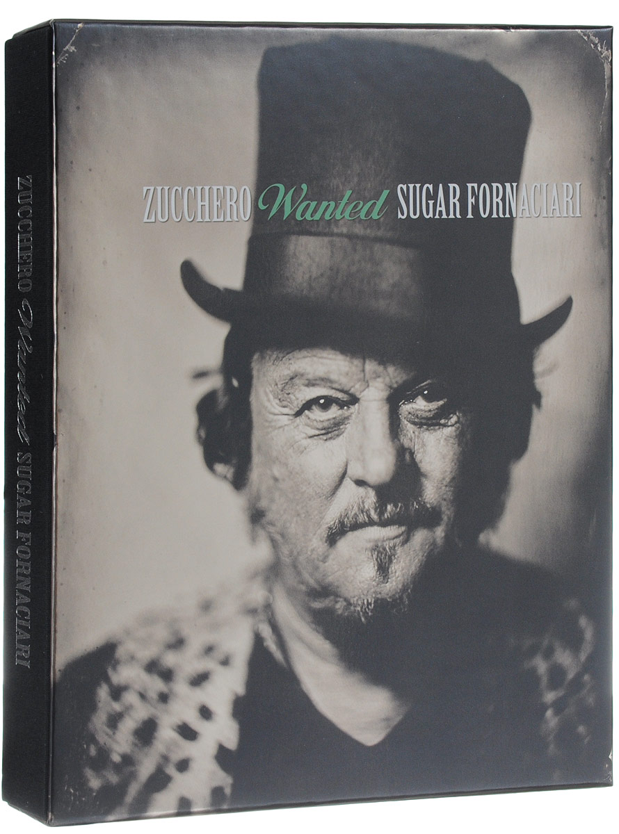 Зуккеро Zucchero. Wanted (10 CD + DVD)