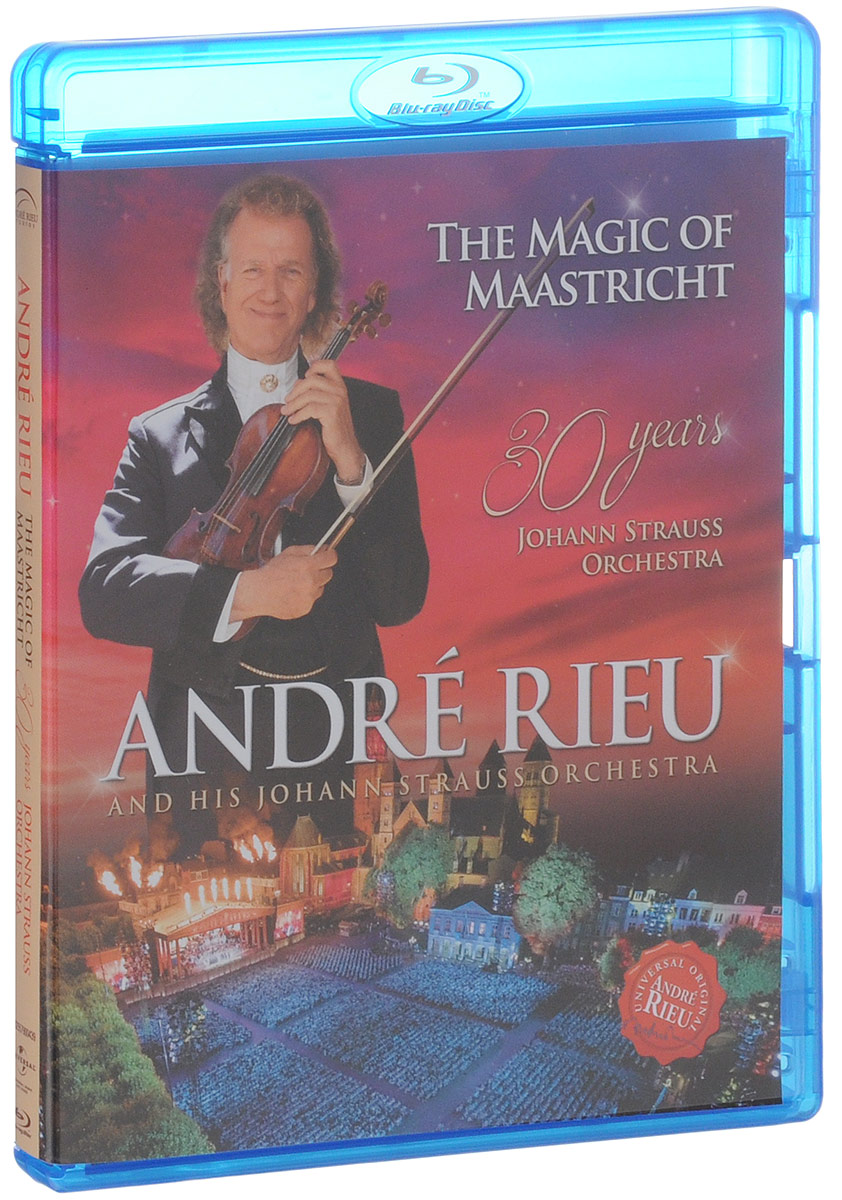 Andre Rieu: The Magic Of Maastricht (Blu-ray) genesis sum of the parts blu ray
