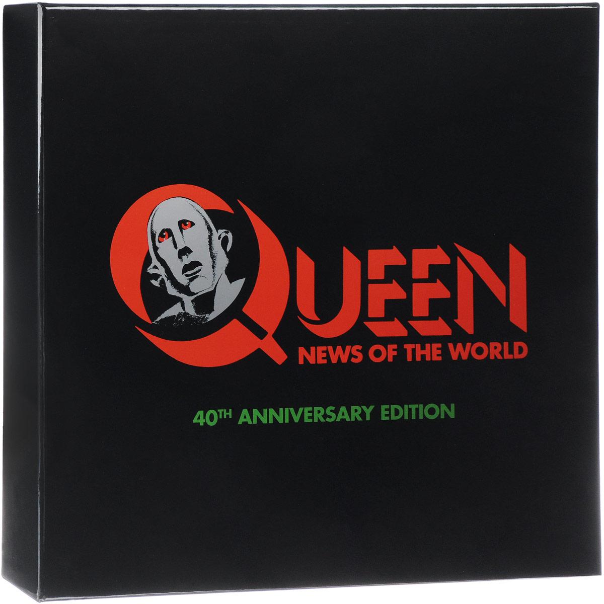 Queen Queen. News Of The World (LP + 3 CD + DVD) гардемарины 3 dvd